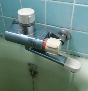 INAX製定量止水付きミキシング混合栓BF-1320M