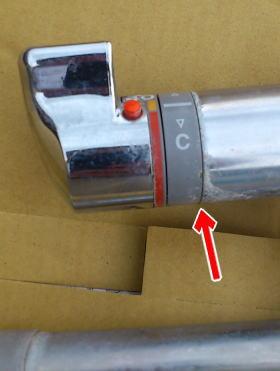 本体から水漏れしたTMG40CRX(調圧弁なし)