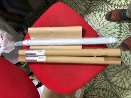 【18Wの直管蛍光灯(長さ500mm ナショナル製 FL18SS)】互換LED蛍光管