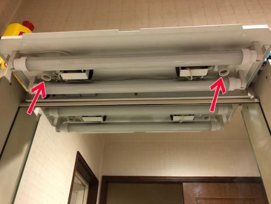 18Wの直管蛍光灯(長さ500mm FL18SS)が手に入らない→工事不要タイプのLED蛍光管で交換可能(グロースタータータイプの場合)