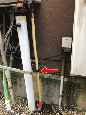 漏水個所を特定する
