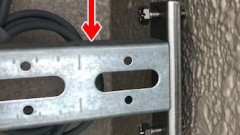 ネグロス電工 ダクターチャンネル支持金具S-DHH1