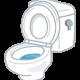 トイレのタンクの中でチョロチョロ水漏れしている場合の故障個所(故障している部品)の調べ方